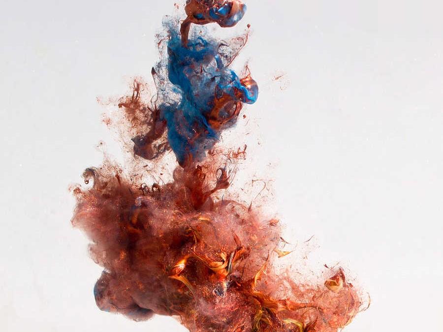 Retratos hechos con gotas de agua